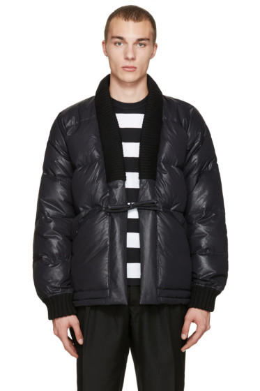 Visvim - Black Down Dotera Coat