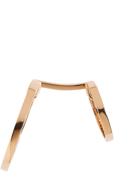 Repossi - Rose Gold Small Double Berbere Earring