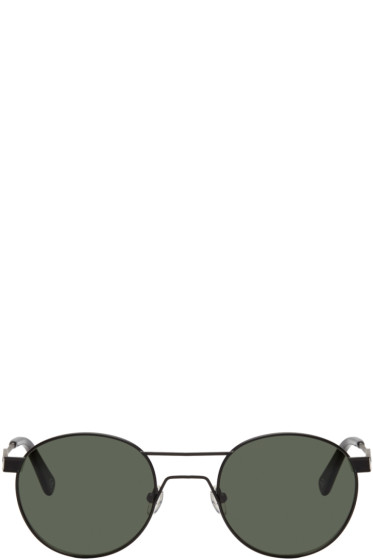Han Kjobenhavn - Black Round Sunglasses