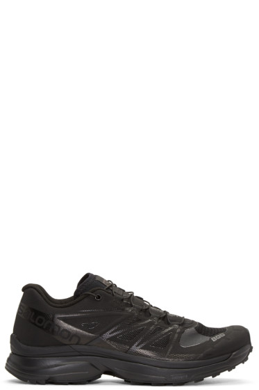 Salomon - Black S-Lab Wings Limited Edition Sneakers