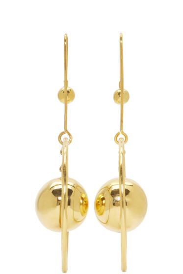Prim by Michelle Elie - Gold Loy 20 Earrings