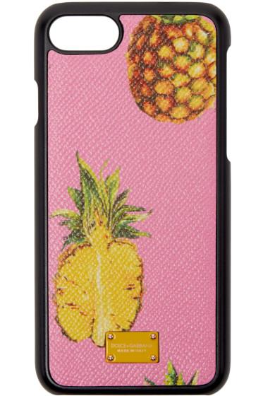 Dolce & Gabbana - Pink Pineapple iPhone 7 Case