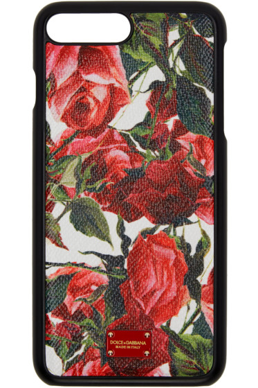 Dolce & Gabbana - White Rose iPhone 7 Plus Case
