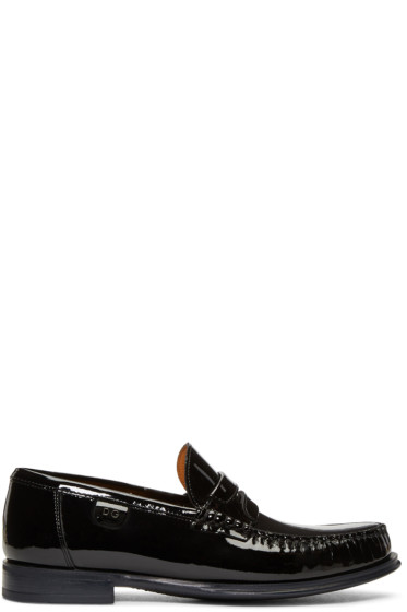 Dolce & Gabbana - Black Patent Loafers
