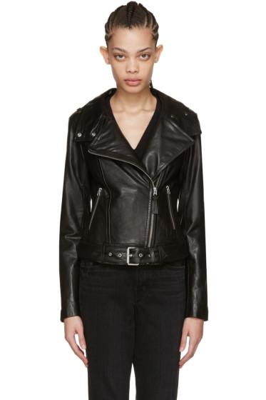 Mackage - Black Leather Hania Jacket