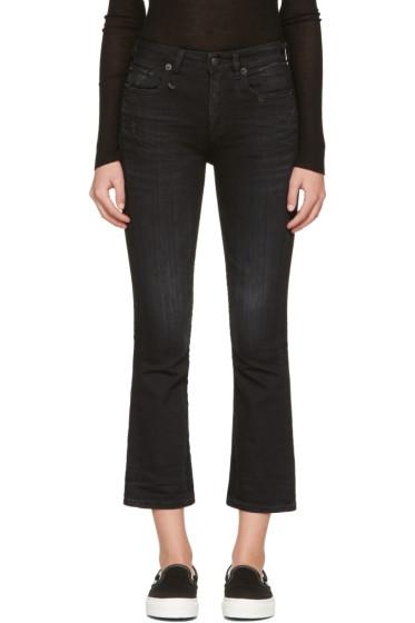 R13 - Black Kick Fit Jeans