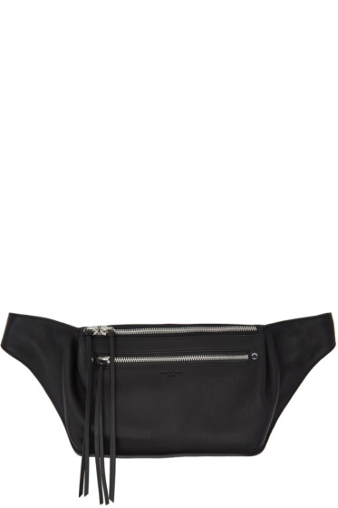 Rag & Bone - Black Leather Fanny Pack