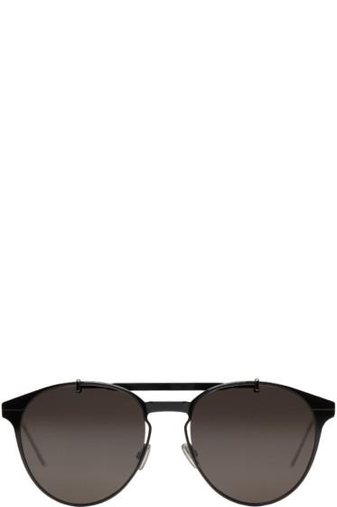 Dior Homme - Black 'Dior Motion 1' Sunglasses