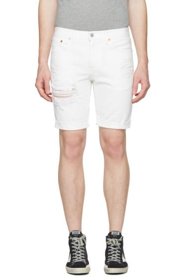 Levi's - White Denim 511 Shorts