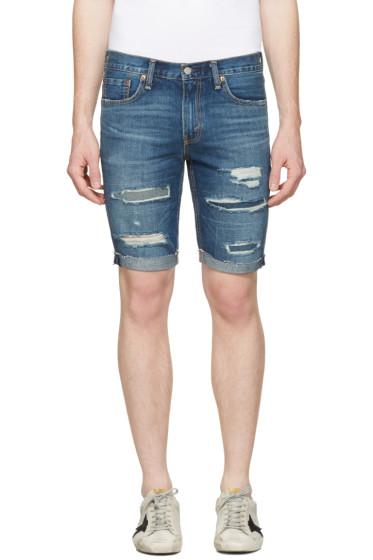 Levi's - Indigo Denim 511 Shorts