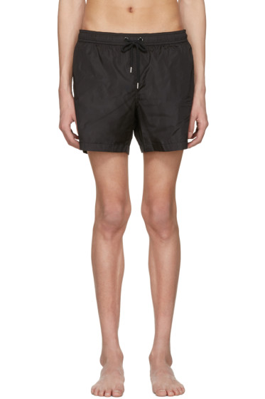 Moncler - Black Drawstring Swim Shorts