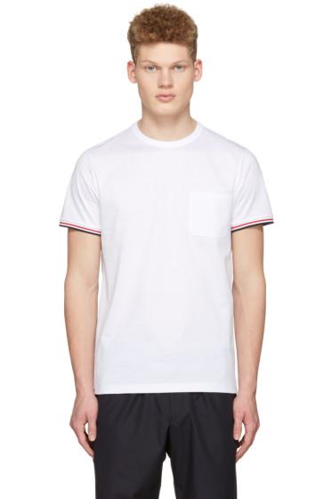 Moncler - White Maglia Pocket T-Shirt