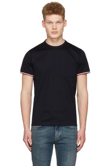 Moncler - Navy Maglia Pocket T-Shirt