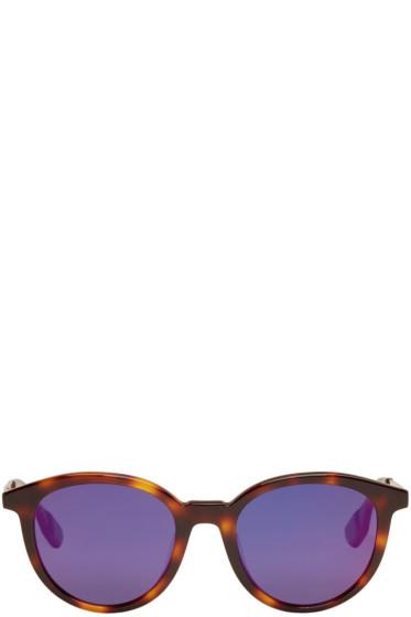 McQ Alexander McQueen - Tortoiseshell Round Sunglasses