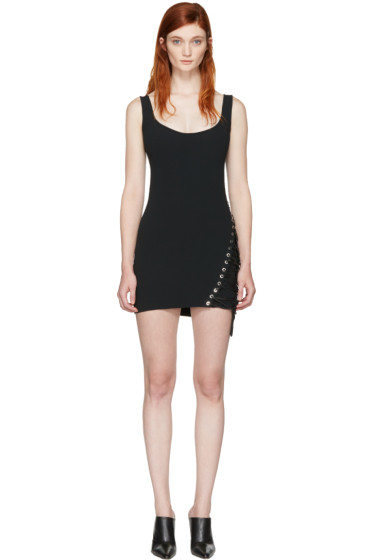 Dsquared2 - Black Boot Lacing Dress
