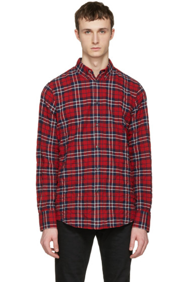 Dsquared2 - Red Check Shirt