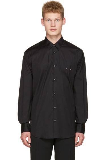 Dsquared2 - Black Nipple Piercing Shirt