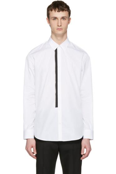 Dsquared2 - White Zip Detail Shirt