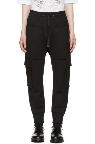 Helmut Lang - Black Pocket Jogger Pants