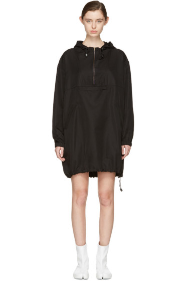 Maison Margiela - Black Hooded Dress