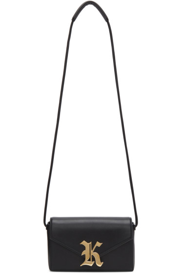 Christopher Kane - Black Gothic 'K' Devine Bag