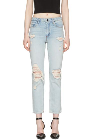 Alexander Wang - Blue Cult Straight-Leg Jeans