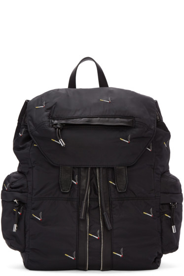 Alexander Wang - Black Marti Cigarette Backpack