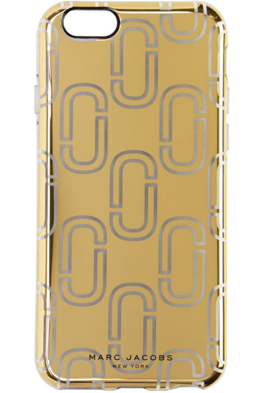 Marc Jacobs - Gold Logo iPhone 6S Case