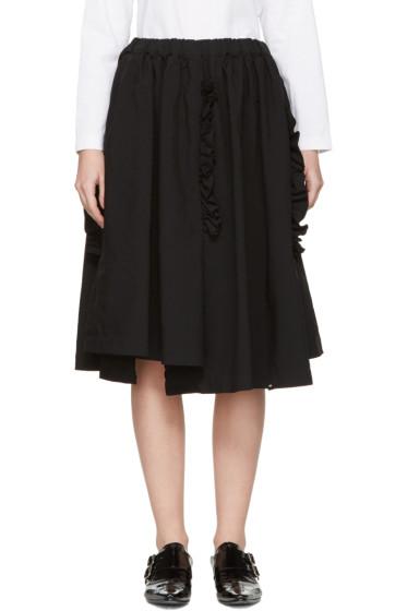 Comme des Garçons - Black Ruffle Skirt