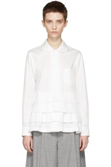Comme des Garçons - White Ruffle Shirt