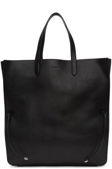 Jil Sander - Black Large Lace Shopper Tote