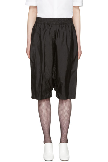 Jil Sander - Black Dropped Shorts