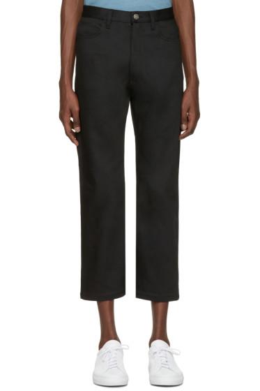 Jil Sander - Black Straight-Leg Jeans
