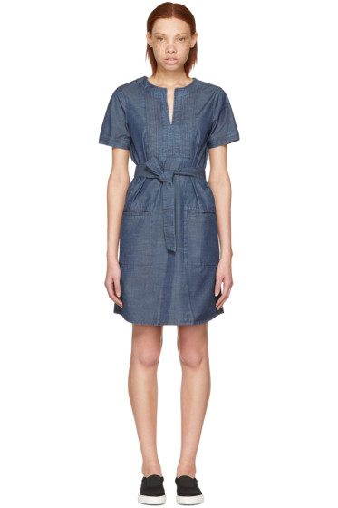 A.P.C. - Indigo Jess Dress