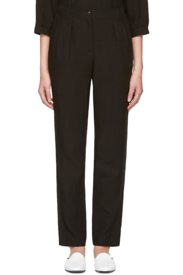 A.P.C. - Black Silverlake Trousers