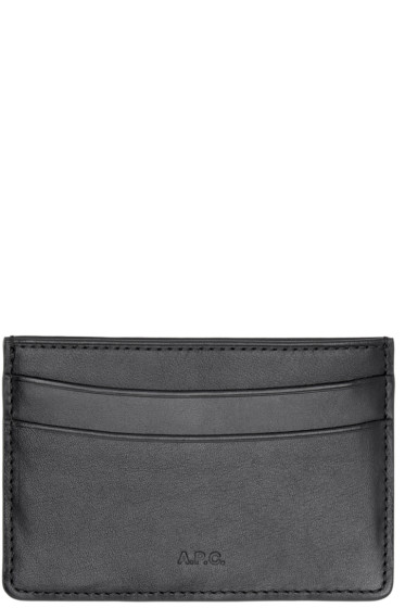 A.P.C. - Black Andre Card Holder