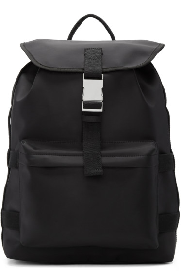 A.P.C. - Black Sylvain Backpack
