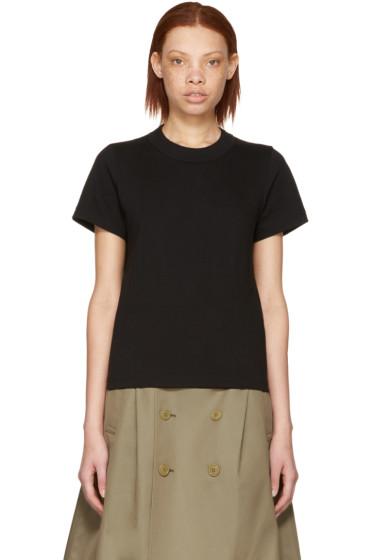 Junya Watanabe - Black Cotton T-Shirt