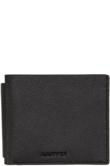 Lanvin - Black Leather Wallet