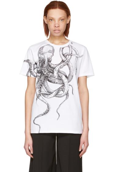 Alexander McQueen - White Octopus T-Shirt