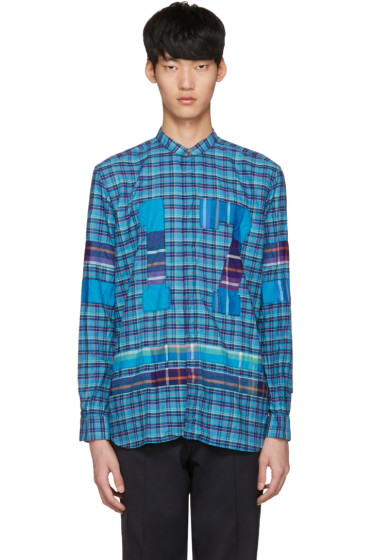 Paul Smith - Blue Check '17' Shirt