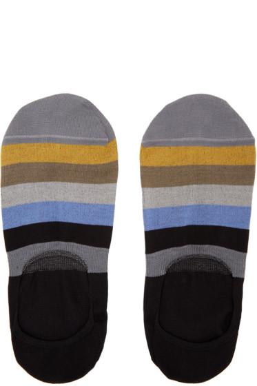 Paul Smith - Multicolor Block Loafers Socks