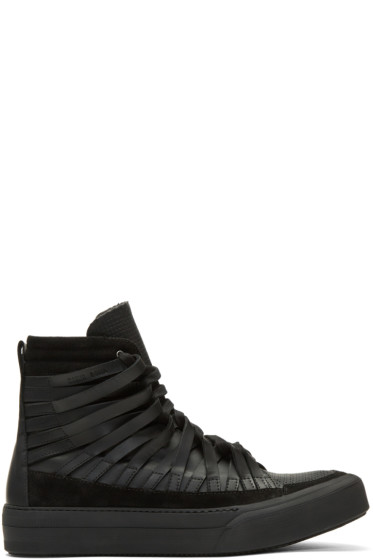 Damir Doma - Black Falco High-Top Sneakers