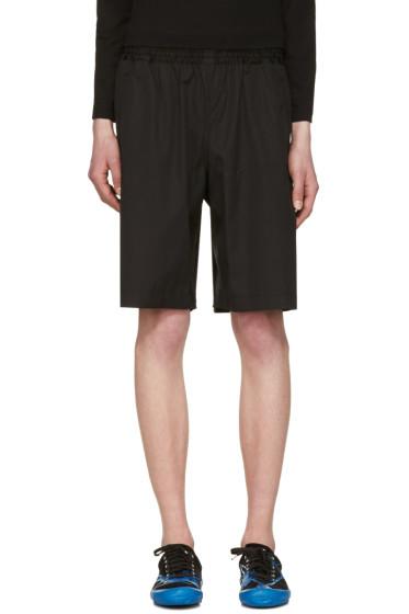 Comme des Garçons Shirt - Black Workstitch Shorts
