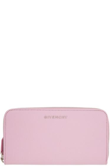 Givenchy - ピンク ロング パンドラ ウォレット