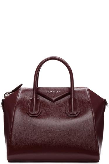 Givenchy - Burgundy Small Antigona Bag