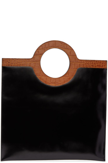 Givenchy - Black Flat Eclipse Tote Bag