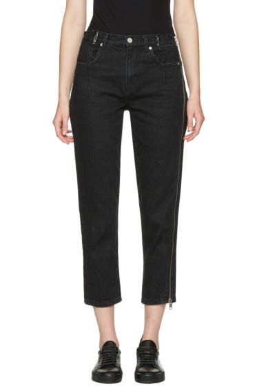3.1 Phillip Lim - Black Zipper Jeans