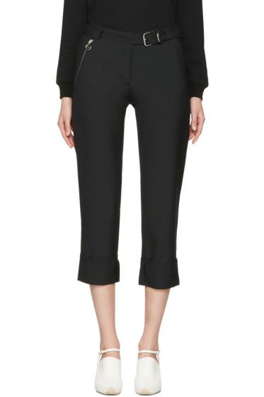 Carven - Black Cuffed Trousers