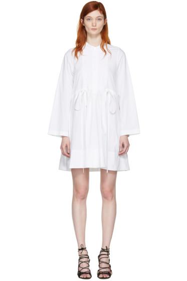 Chloé - White Poplin Shirt Dress